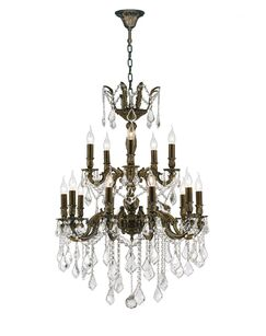 Dodson Traditional 18-Light Candle Style Chandelier Size: 35