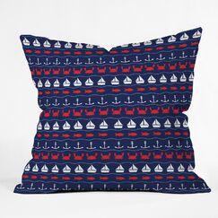 Robert Farkas Outdoor Throw Pillow Size: Large