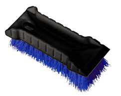 All Purpose Utility Scrub Brush with Block (Set of 72) Color: Blue