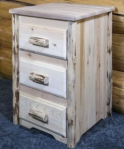 Abordale 3 Drawer Nightstand Color: Ready to Finish