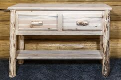 Abordale Entry/Sofa Table Finish: Lacquered