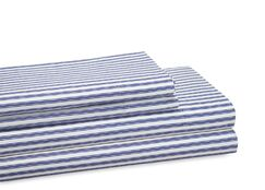 300 Thread Count 100% Cotton Sheet Set Color: Navy, Size: King