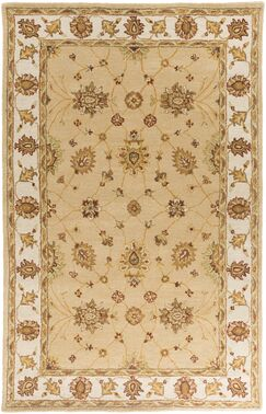 Plemmons Beige Area Rug Rug Size: Rectangle 4' x 6'