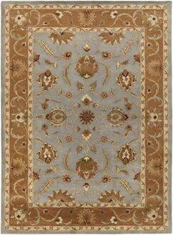 Mckelvey Blue Area Rug Rug Size: Rectangle 7'6