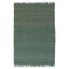 Pineda Hand Woven Blue Area Rug Rug Size: Rectangle 3' x 5'