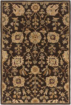 Dutil Brown Area Rug Rug Size: Rectangle 4' x 6'