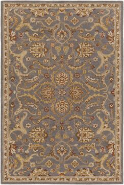 Phillip Gray Area Rug Rug Size: Rectangle 6' x 9'