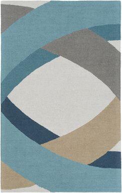 Oswaldo Hand-Tufted Multi Area Rug Rug Size: Rectangle 5' x 8'