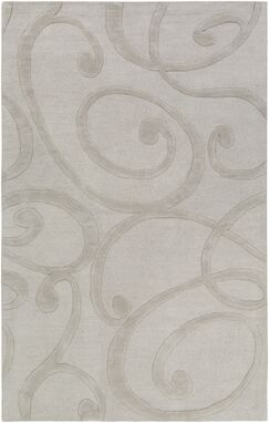 Allegro Hand-Tufted Stone Area Rug Rug Size: Rectangle 9' x 13'