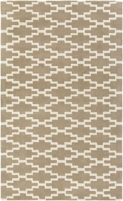 Lococo Hand-Tufted Gray/Ivory Area Rug Rug Size: Runner 2' x 8'