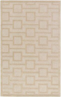 Sarai Hand-Tufted Beige Area Rug Rug Size: Rectangle 9' x 13'