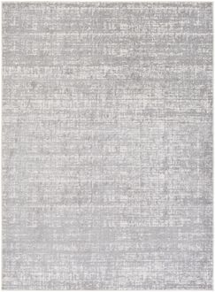 Zellmer Hand-Woven Gray/Ivory Area Rug Rug Size: Rectangle 7'11