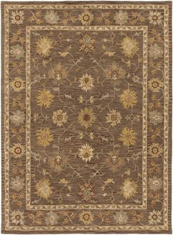 Plemmons Brown Area Rug Rug Size: Rectangle 9' x 13'