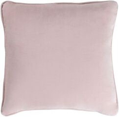 Baylie Cotton Velvet Throw Pillow Color: Burgundy, Fill Material: Polyester