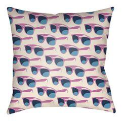 Bloom Indoor/Outdoor Throw Pillow Size: 26
