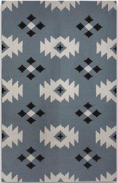 Shelburne Blue Area Rug Rug Size: 5' x 8'