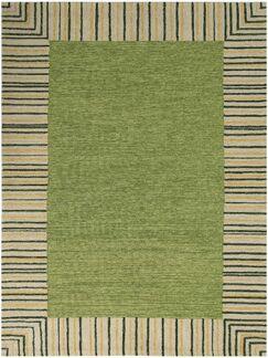 Oakham Olive Green Indoor/Outdoor Area Rug Rug Size: Rectangle 7'6