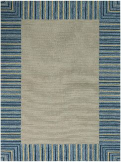 Oakham Blue Indoor/Outdoor Area Rug Rug Size: Rectangle 7'6