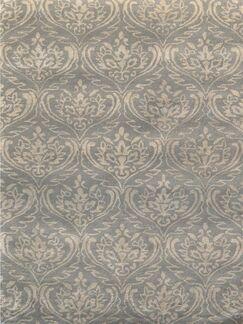 Ismenia Hand-Tufted Silver Sand Area Rug Rug Size: Rectangle 8' x 11'