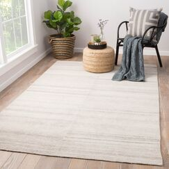 Orleanna Flat Woven Cream Indoor/Outdoor Area Rug Rug Size: Rectangle 8' x 11'