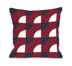 Janelle Geometric Throw Pillow Size: 20