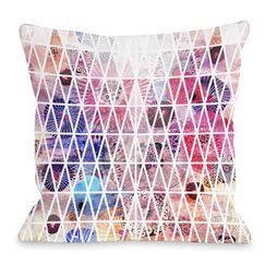 Nebula Throw Pillow Size: 18