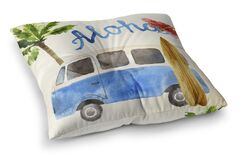 Belfort Surf Van Outdoor Floor Pillow Size: 26