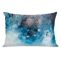 Paulita Ocean Oil Painting Lumbar Pillow