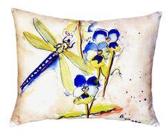 Walden Dragonfly Indoor/Outdoor Lumbar Pillow