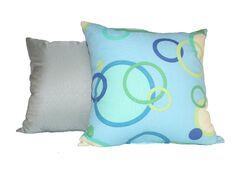 Elsinboro Rings Cotton Throw Pillow