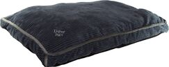 Luxurious Corduroy Gusseted Dog Bed Color: Stonewash Blue