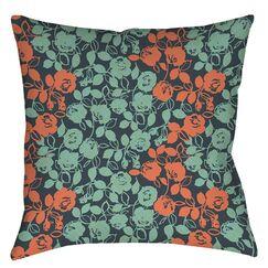 Anna Rose 5 Indoor/Outdoor Throw Pillow Size: 16