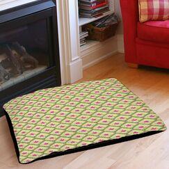 Butterfly Diamond Indoor/Outdoor Pet Bed Size: 40