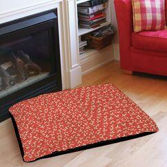 Dream Big Ditsy Florals Indoor/Outdoor Pet Bed Size: 28