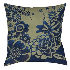 Kyoto Garden 3 Printed Throw Pillow Size: 16