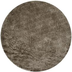 Montpelier Sable/Taupe Area Rug Rug Size: Round 5'