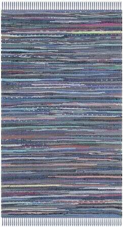 Eastport Rag Hand-Woven Contemporary Area Rug Rug Size: Square 4'
