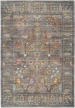Bernardyn Gray/Multi Area Rug Rug Size: Rectangle 5' x 8'