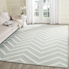 Charlenne Hand-Tufted Gray/Ivory Area Rug Rug Size: Runner 2'6