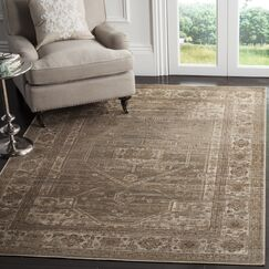 Ercole Mouse Wool Area Rug Rug Size: Rectangle 5'3