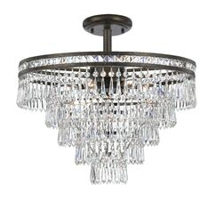 Markenfield 6-Light Semi Flush Mount Finish: English Bronze