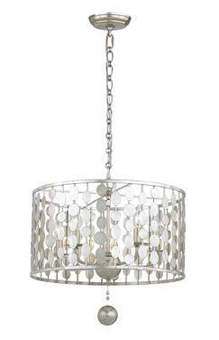 Charlesworth 5-Light Pendant Finish: Antique Silver