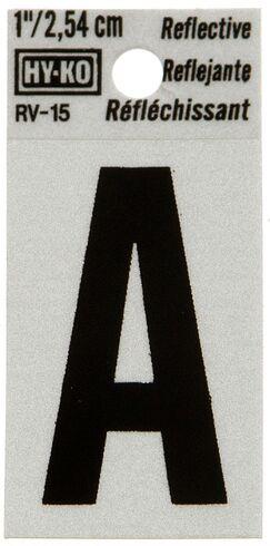 Reflective Letter Sign (Set of 10) Letter: I