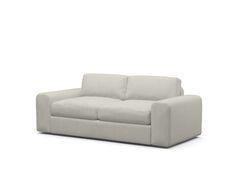 Couch Potato Condo Loveseat Sofa Body Fabric: Graham Charcoal, Size: 30