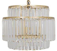 Deco 4-Light Crystal Chandelier