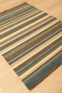 Lifestyle Carlton Hand Tufted Wool Multi Area Rug Rug Size: Rectangle 5' x 8'