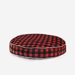 Davon Dog Pillow Size: Large, Color: Red