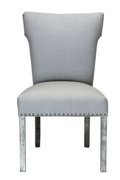 Dougherty Platinum Upholstered Dining Chair