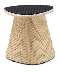 Circle Side Table Finish: Brown