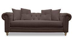 Hanover Chesterfield Sofa Upholstery: Coffee